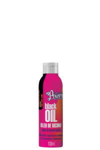 ÓLEO DE RICINO BLACK OIL 100ML