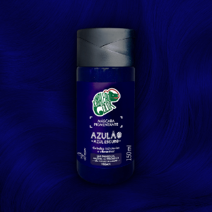 MÁSCARA PIGMENTANTE KAMALEAO COLOR - AZULÃO 150 ML