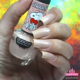 ESMALTE STUDIO 35 09ML #LOVESNOOPY - SNOOPY