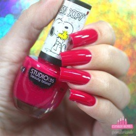 ESMALTE STUDIO 35 09ML #LOVEWOODSTOCK - SNOOPY