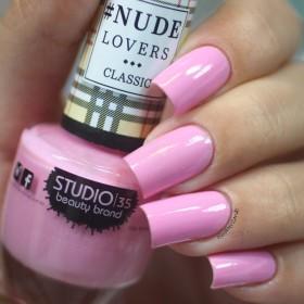 Esmalte Studio 35 Nude Bailarina - Rosa claro cremoso. - NUDE LOVERS