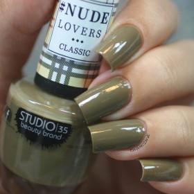 Esmalte Studio 35 Nude Militar - Verde claro militar. - NUDE LOVERS