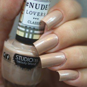 Esmalte Studio 35 Nude Que Brilha - Nude perolado. - NUDE LOVERS