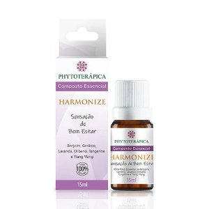 ÓLEO ESSENCIAL COMPOSTO HARMONIZE - 15ML