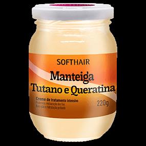 MANTEIGA TUTANO E QUERATINA 220g SOFTHAIR