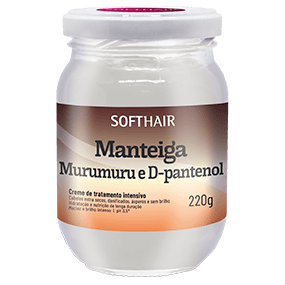 MANTEIGA MURUMURU E D-PANTENOL 220g SOFTHAIR