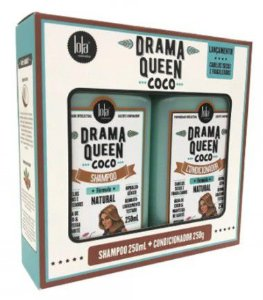 KIT SHAMPOO + CONDICIONADOR DRAMA QUEEN COCO LOLA 250ML
