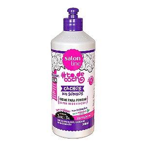 Creme Para Pentear #Todecacho Cachos Dos Sonhos Salon Line 500G