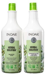 KIT HERBAL SHAMPOO + CONDICIONADOR 2 LITROS INOAR