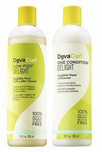 COMBO DEVACURL DELIGHT LOW POO DELIGHT 355ML + ONE CONDITION DELIGHT 355ML