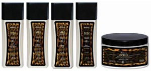 KIT AFRO 2C A 3B PROFISSIONAL DHONNA - 5 ITENS