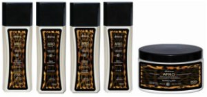 KIT AFRO 3C A 4C PROFISSIONAL DHONNA - 5 ITENS