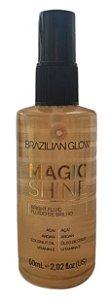 Magic Shine Fluido De Brilho Brazilian Glow 60Ml