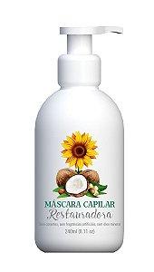 Mascara Capilar Restauradora Multi Vegetal 240Ml