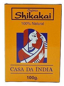 Shikakai em pó Casa da Índia 100g