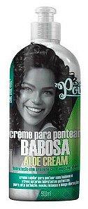 Creme de Pentear Babosa Aloe Cream Soul Power 500g