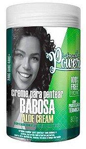 Creme de Pentear Babosa Aloe Cream Soul Power 800g