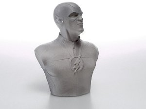 Busto Flash Barry Allen