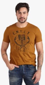 CAMISETA CONVICTO COM ESTAMPA
