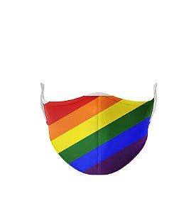 Máscara de Tecido de Dupla Camada Basic LGBT