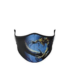 Máscara de Tecido Dupla Camada Antibacteriana Iron Maiden