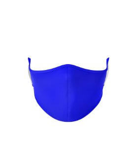 Máscara de Tecido de Dupla Camada Basic Azul