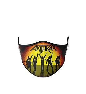 Máscara de Tecido Dupla Camada Antibacteriana Anthrax