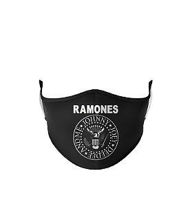Máscara de Tecido Dupla Camada Antibacteriana Ramones