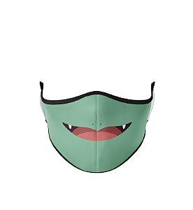 Máscara de Tecido Dupla Camada Antibacteriana Bulbassauro
