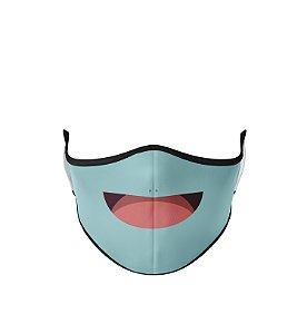 Máscara de Tecido Dupla Camada Antibacteriana Squirtle