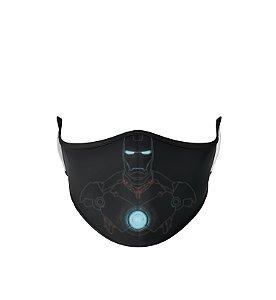Máscara de Tecido Dupla Camada Antibacteriana Iron Man