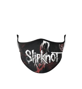 Máscara de Tecido Dupla Camada Antibacteriana Slipknot Logo