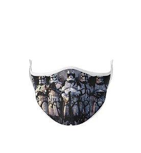 Máscara de Tecido Dupla Camada Antibacteriana Clonetroopers