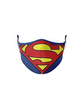 Máscara de Tecido Dupla Camada Antibacteriana Super Homem