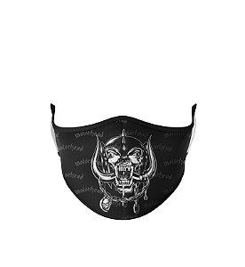 Máscara de Tecido Dupla Camada Antibacteriana Motorhead