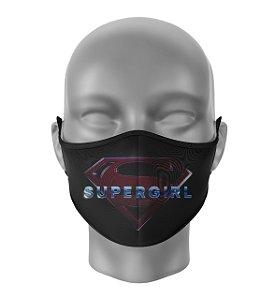 Máscara de Tecido Dupla Camada Antibacteriana Supergirl