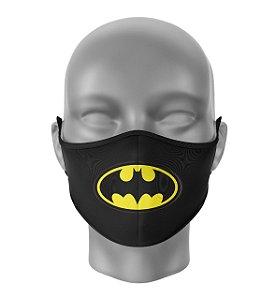 Máscara de Tecido Dupla Camada Antibacteriana Batman Logo