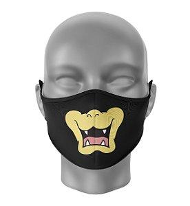 Máscara de Tecido Dupla Camada Antibacteriana Bowser