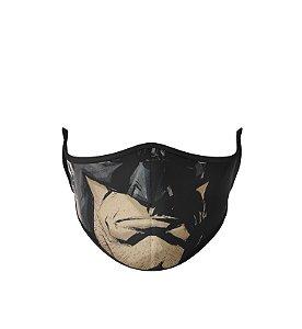 Mácara de Tecido Dupla Camada Antibacteriana Batman