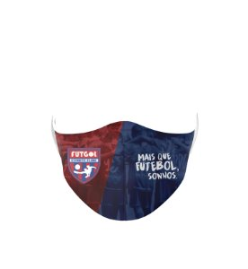 Máscara Antibacteriana Estampa Futgol Mais que Futebol 3