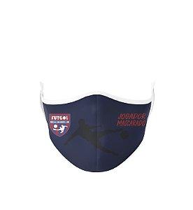 Máscara Antibacteriana Estampa Futgol Jogador Mascarado 2