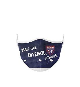 Máscara Antibacteriana Estampa Futgol Mais que Futebol 5