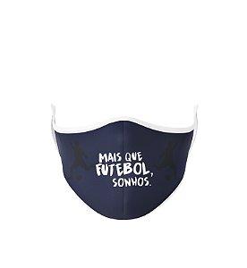 Máscara Antibacteriana Estampa Futgol Mais que Futebol 7