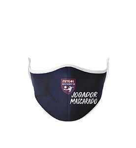 Máscara Antibacteriana Estampa Futgol Jogador Mascarado 4
