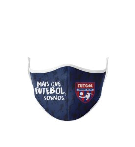 Máscara Antibacteriana Estampa Futgol Mais que Futebol 9