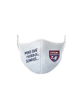 Máscara Antibacteriana Estampa Futgol Mais que Futebol