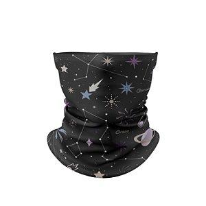Balaclava Elástica Térmica Estampa Galaxia