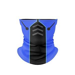 Balaclava Antibacteriana com Proteção UV Estampa Mortal Kombat - Sub Zero