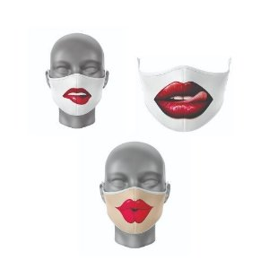 Kit Máscara Antibacteriana Sensual