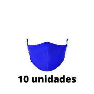 Máscara Antibacteriana azul Kit C/ 10 Unidades